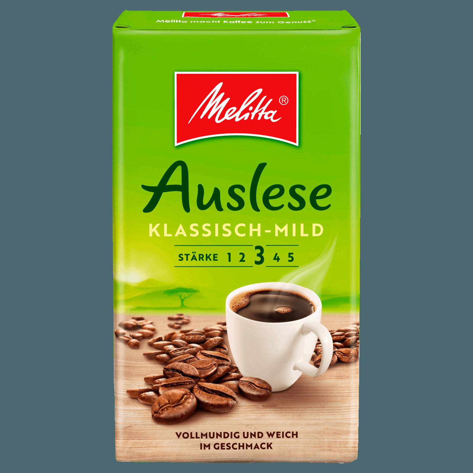 Melitta Auslese Röstkaffee Klassisch 500g bei REWE online