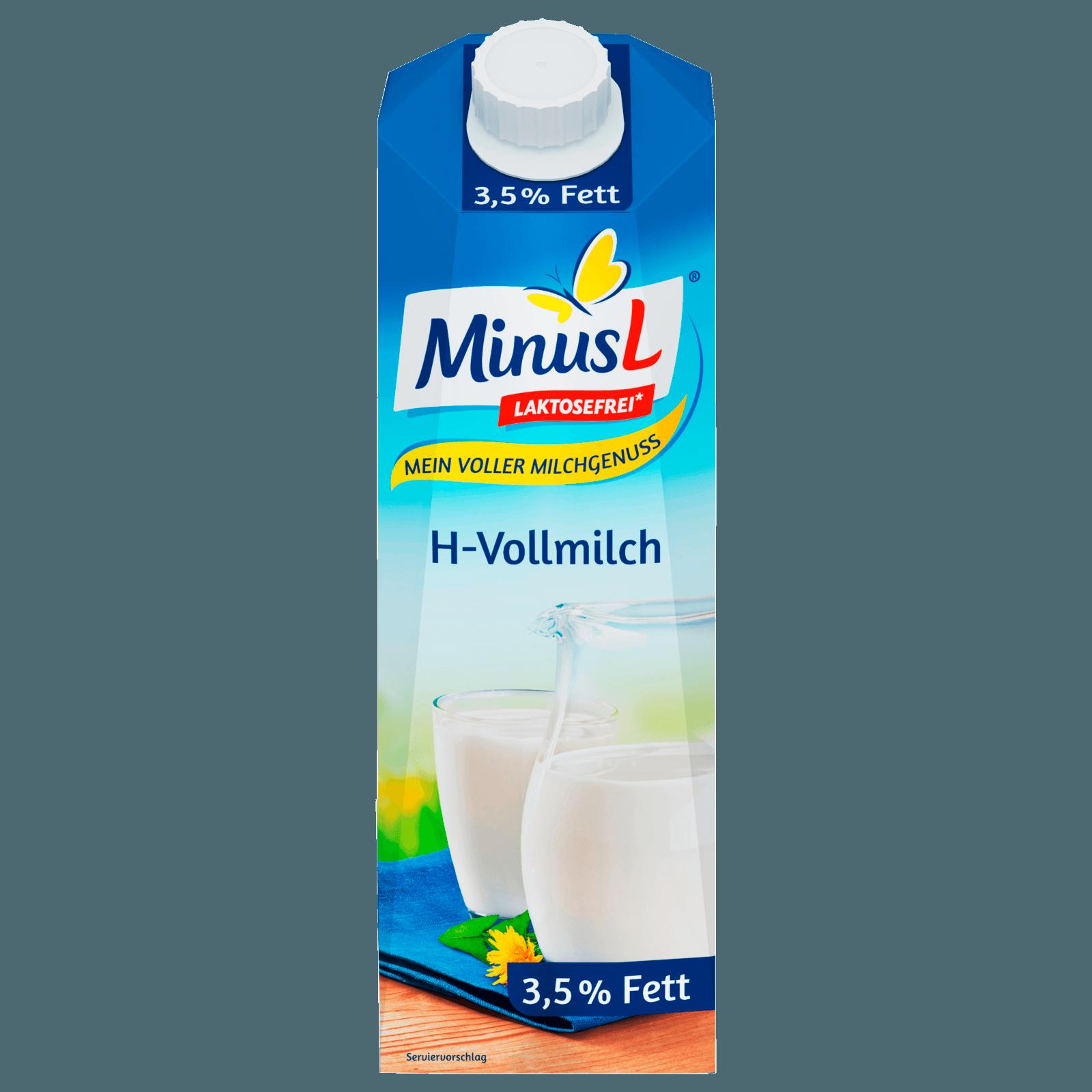 MinusL H-Vollmilch 3,8% 1l
