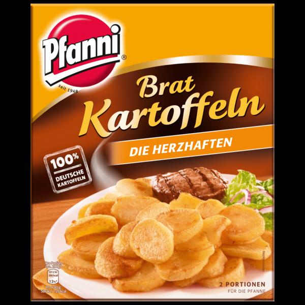 """Pfanni Kartoffelfertiggericht Bratkartoffeln """"Die Herzhaften"""" 2 Portionen"""