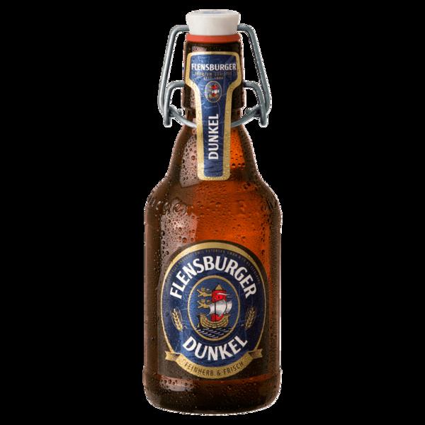 Flensburger Dunkel Bügelflasche 0,33L