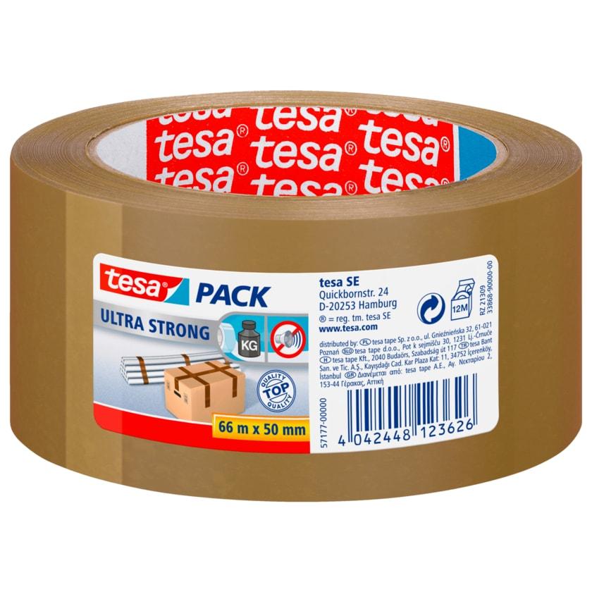 Tesa Paketband braun