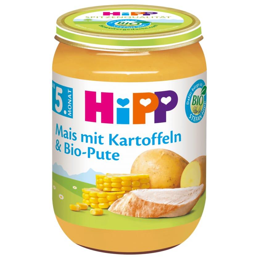 Hipp Mais mit Kartoffelpüree & Bio-Pute 190g