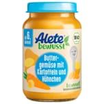 Alete Bio Buttergemüse mit Kartoffeln und Hühnchen 190g