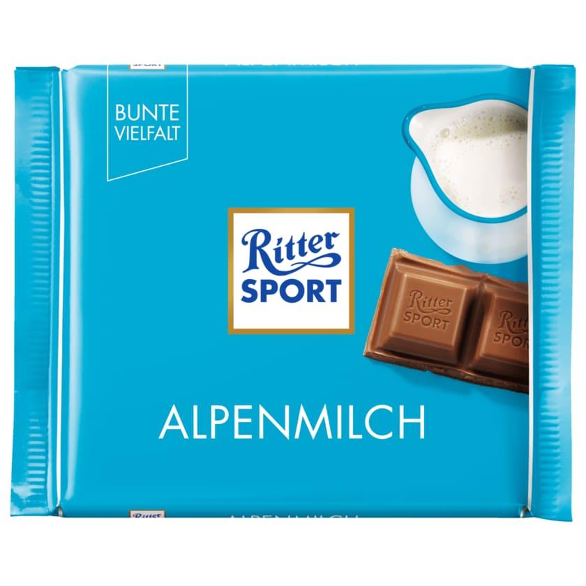 Ritter Sport Schokolade Alpenmilch 100g