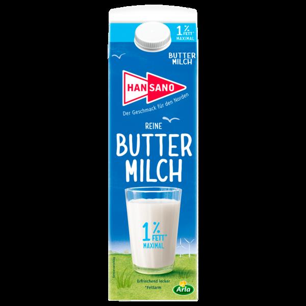 Hansano Frische Buttermilch 1l