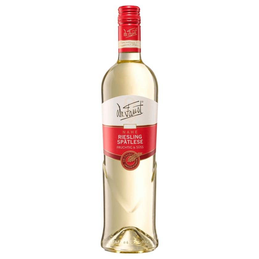 Dr. Faust Weißwein Riesling Spätlese lieblich 0,75l