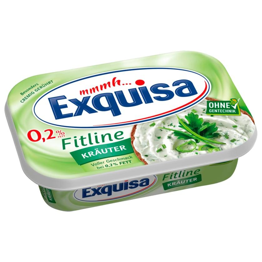 Exquisa Frischkäse Fitline 0,2% Kräuter 200g