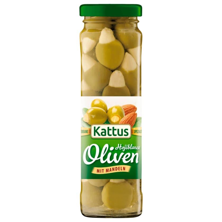 Kattus Große Oliven mit Mandeln 90g