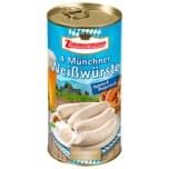 Zimmermann Münchner Weißwurst 250g, 4 Stück