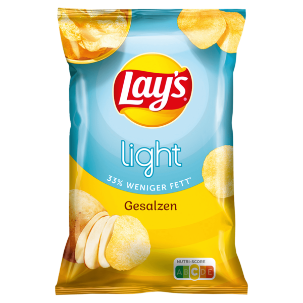 Lay's Light Gesalzen Chips 150g