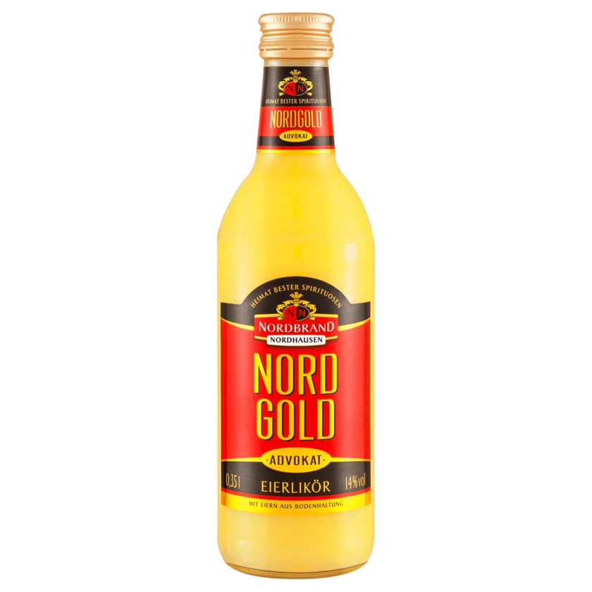 Nord Gold Eierlikör Advokat 0,35l