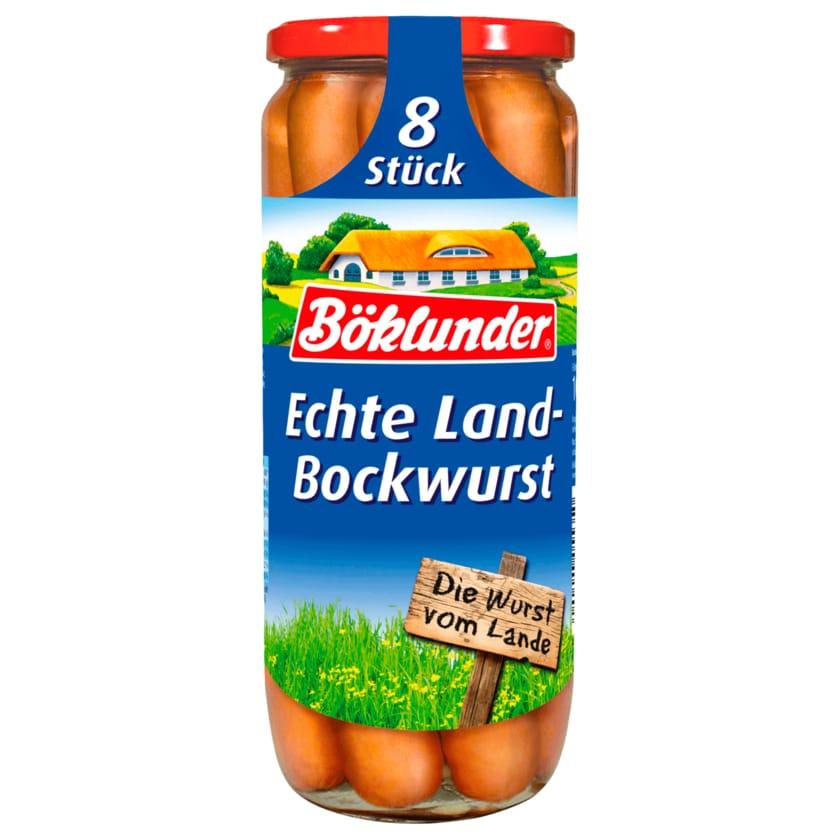 Böklunder Echte Land-Bockwurst 720g, 8 Stück