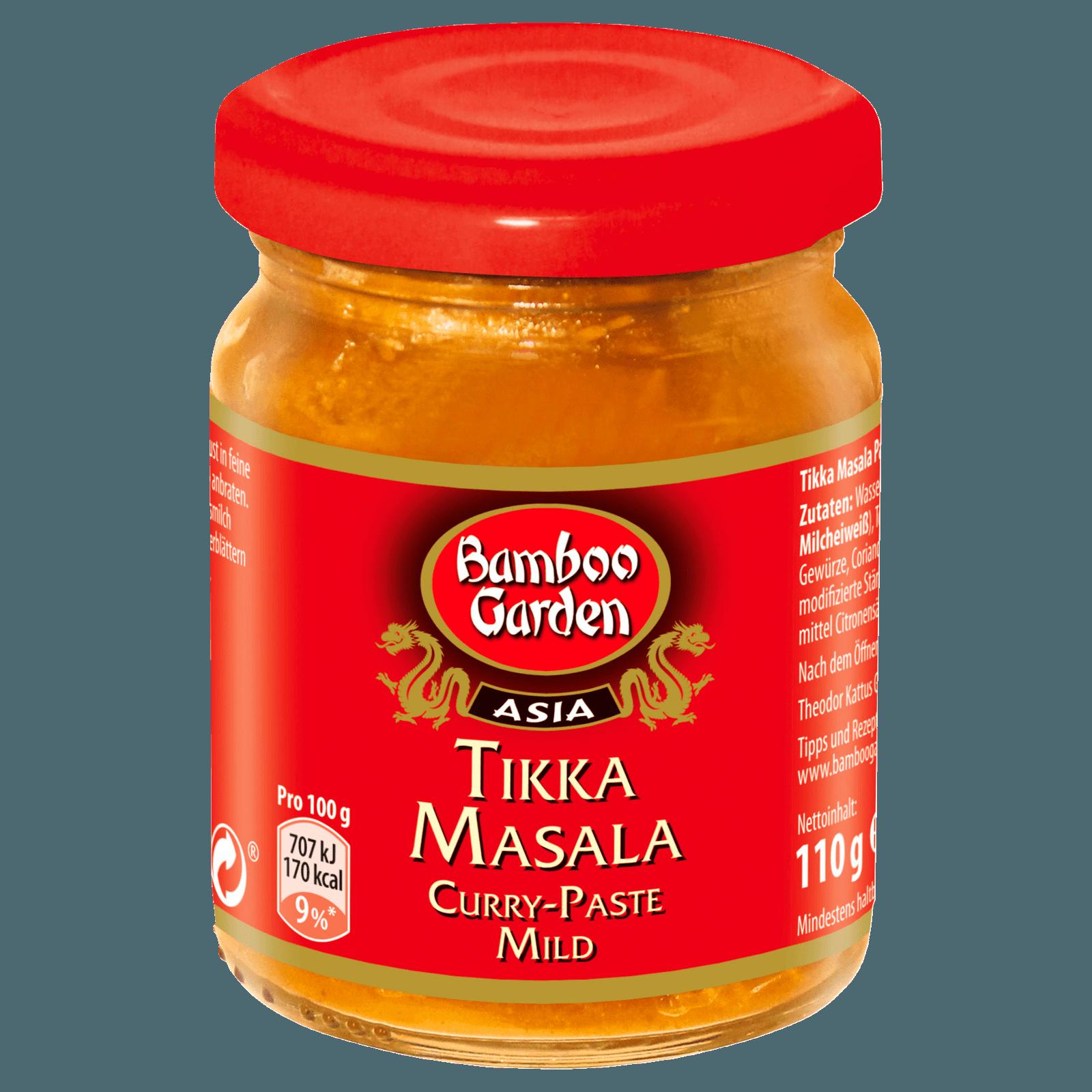 Bamboo Garden Curry-Paste mild Tikka Masal 110g bei REWE online ...