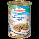 Zimmermann Leberspätzle-Suppe 400ml
