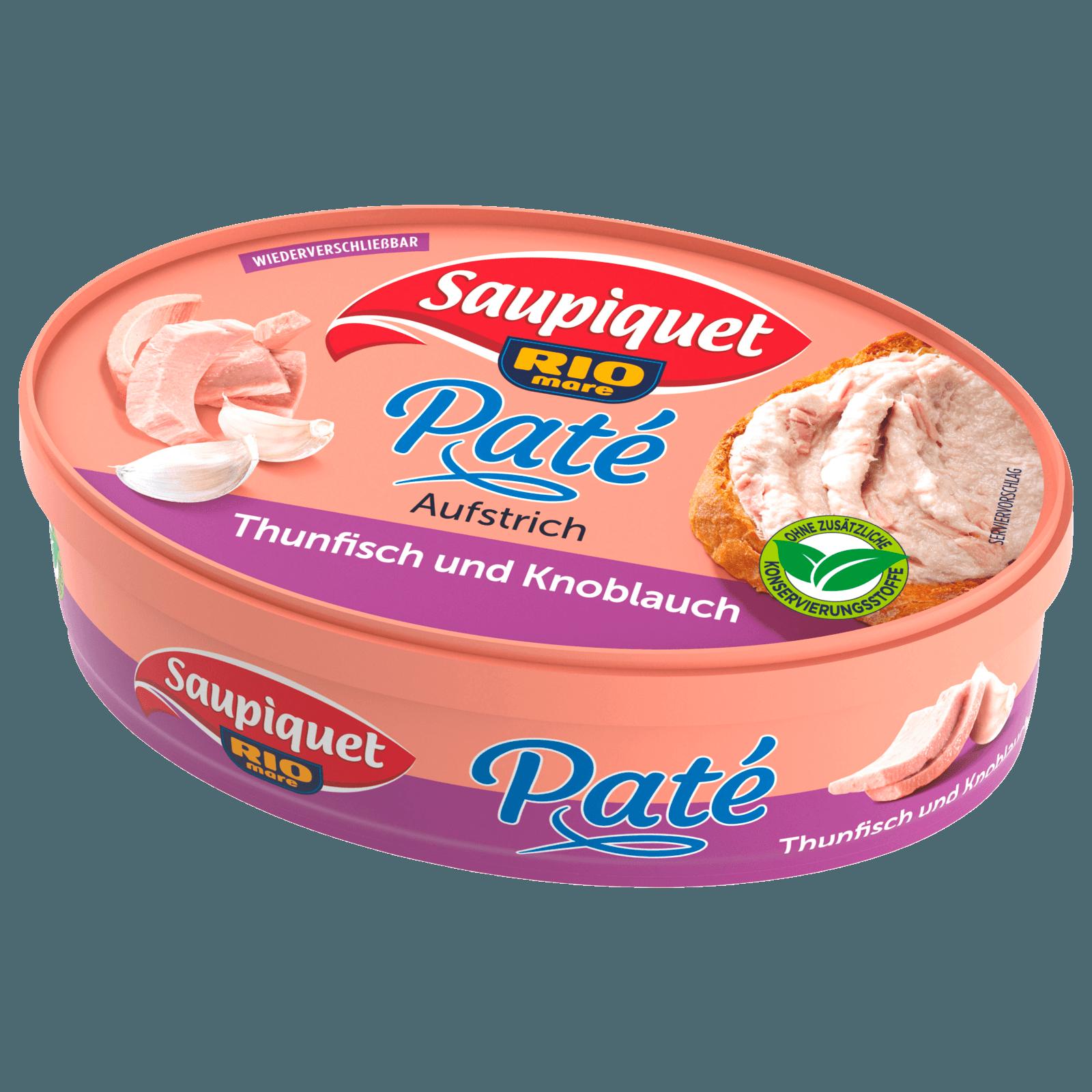 Saupiquet Thunfisch Brotaufstrich mit Knoblauch 115g