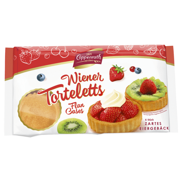 Coppenrath Wiener Torteletts Flan Cases 100g