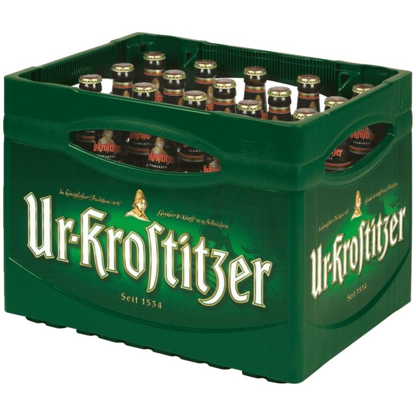 Ur-Krostitzer Schwarzbier 20x0,5l