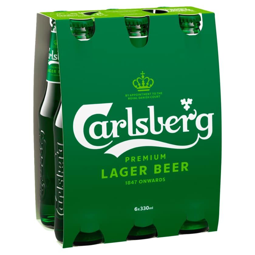 Carlsberg Beer 6x0,33l