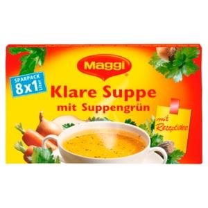Maggi Klare Suppe mit Suppengrün 8x21g ergibt 8l