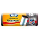 Swirl Fixierband-Müllbeutel 60l, 10 Stück