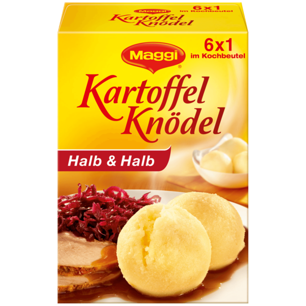 Maggi Kartoffel Knödel Halb & Halb 200g