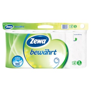 Zewa Bewährt Toilettenpapier 3-lagig 16x150 Blatt