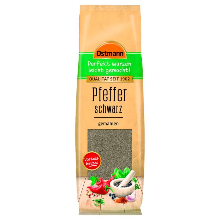 Ostmann Pfeffer schwarz gemahlen 100g