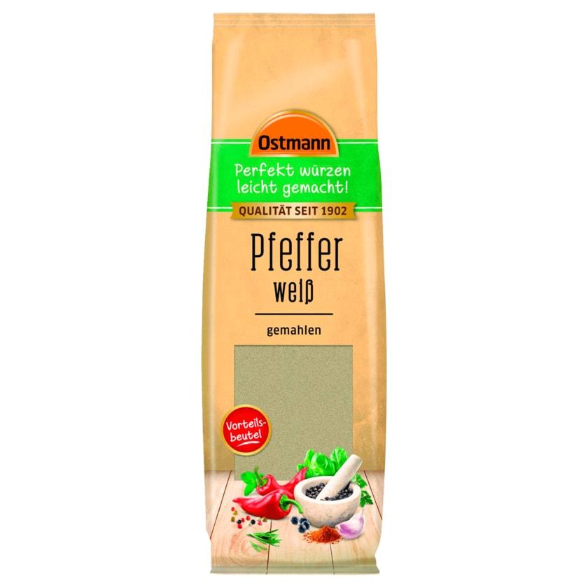 Ostmann Pfeffer weiß gemahlen 100g
