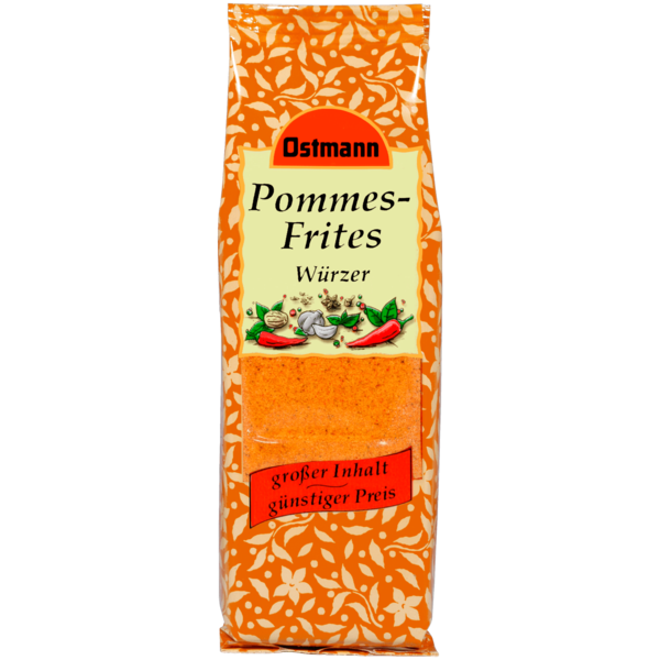 Ostmann Pommes-Frites-Würzer 150g