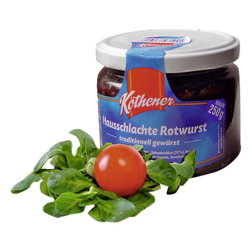Köthener Hausschlachte Rotwurst 250g