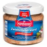 Köthener Zwiebelleberwurst im Glas 250g