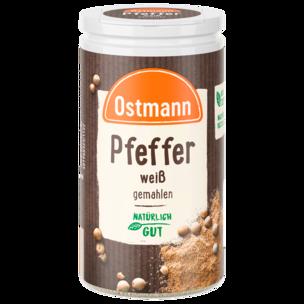 Ostmann Pfeffer weiß gemahlen 45g