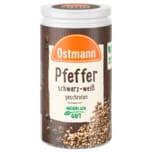 Ostmann Pfeffer schwarz-weiß geschrotet 40g