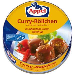 Appel MSC Herings-Röllchen Curry 200g DS
