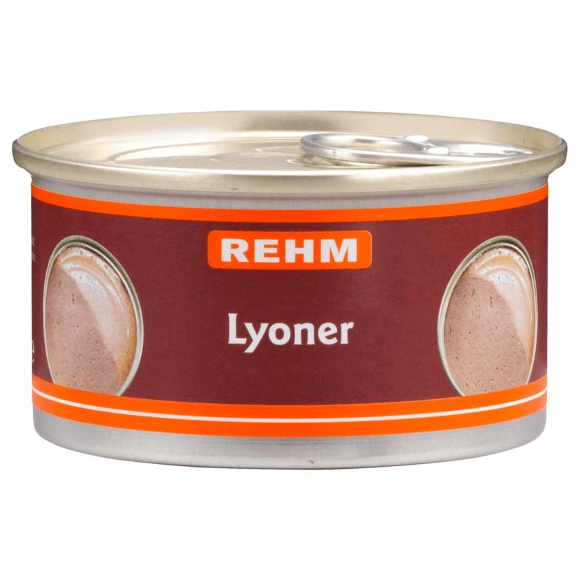 Rehm Schwäbische Lyoner 125g