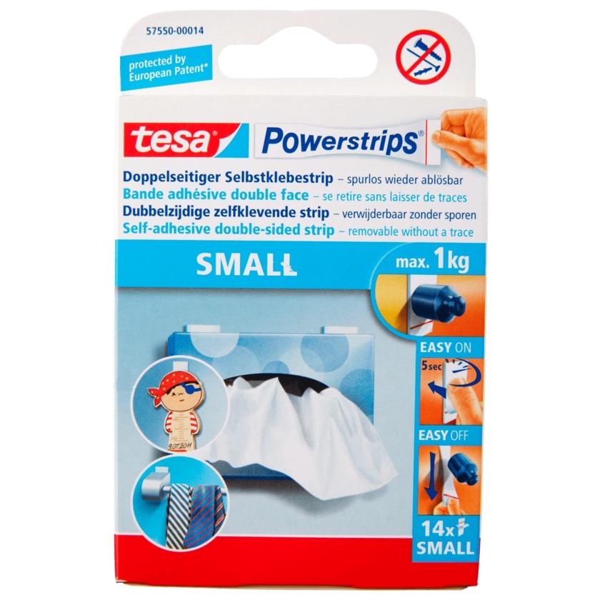 Tesa Powerstrips Small 14 Stück