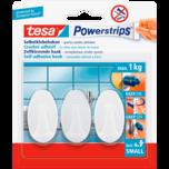 Tesa Powerstrips 3er oval weiß small