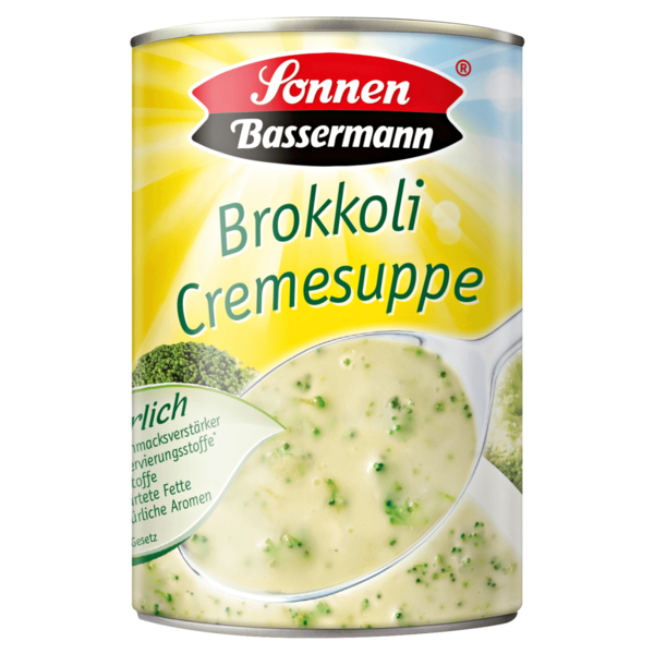 Sonnen Bassermann Broccoli-Cremesuppe 390ml