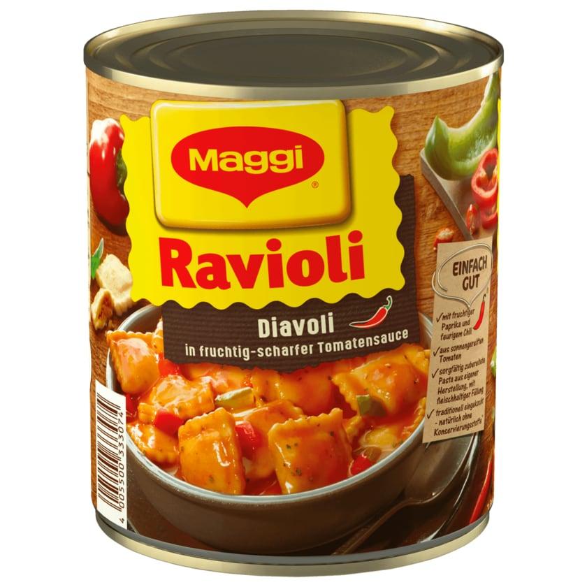 Maggi Ravioli Diavoli in scharfer Tomatensauce 800g