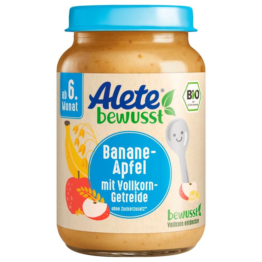 Alete Bio Banane-Apfel mit Vollkorn-Getreide 190g