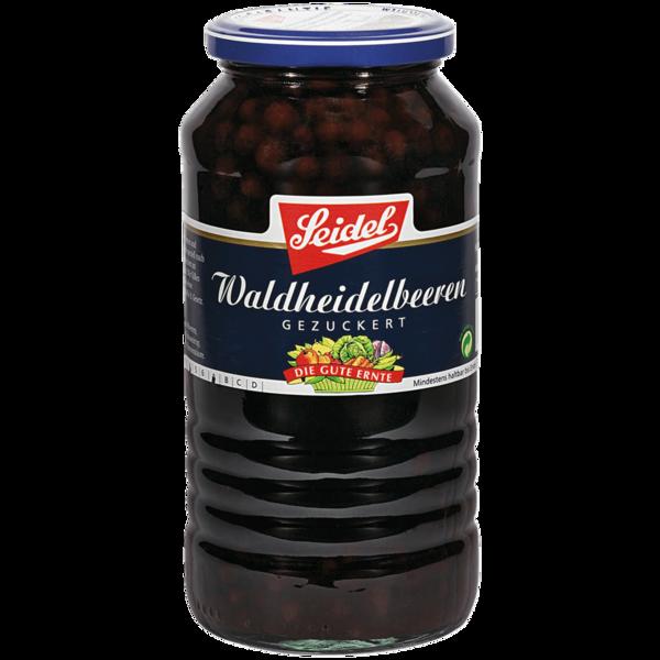 Seidel Wald-Heidelbeeren 720 ml. Glas
