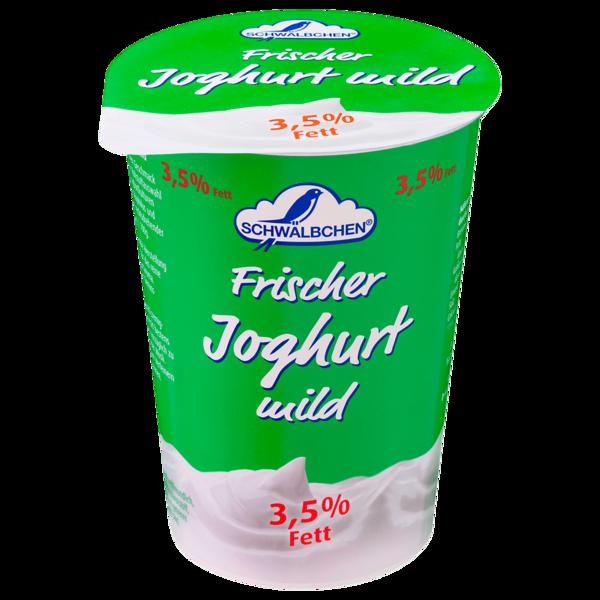 Schwälbchen Frischer Joghurt mild 3,5% 500g