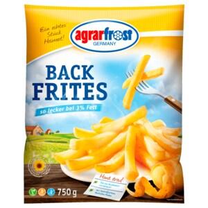 Agrarfrost Back Frites 750g
