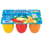 Danone Fruchtzwerge Banane, Erdbeere, Aprikose 6x50g