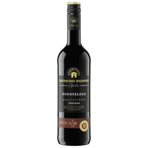 Deutsches Weintor Rotwein Dornfelder QbA trocken 0,75l
