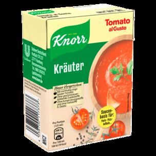 Knorr Tomato al Gusto Kräuter Soße 370 g