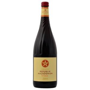 Mazedonien Rotwein lieblich 1l