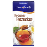 Sweet Family Brauner Teezucker 500g
