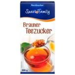 Sweet Family Brauner Teezucker 500g