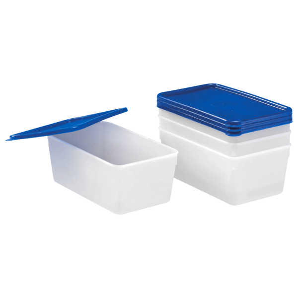 Gies Tiefkühldosen 1L hohe Form 3 Stück